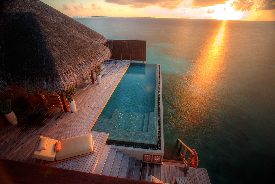 Ayada Maldives, Sunset Family Ocean Suite (2)