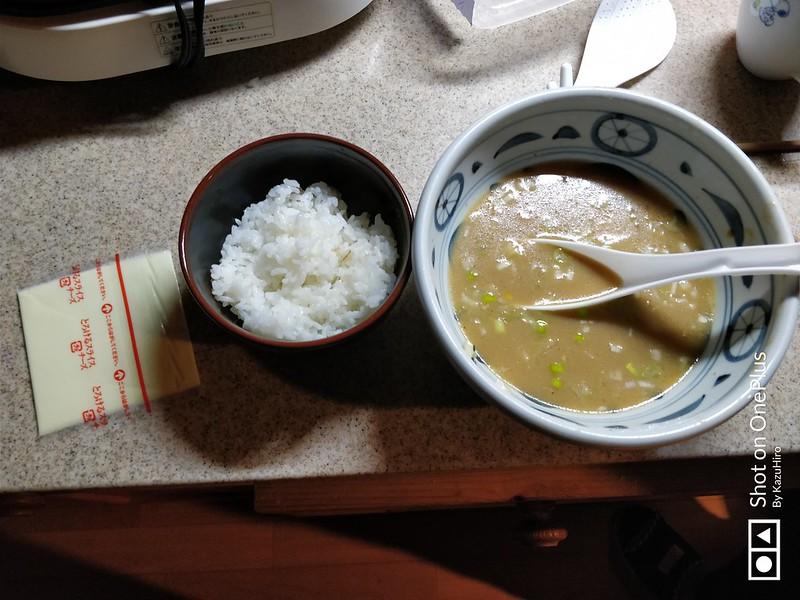 ラーメンチーズ雑炊 (1)