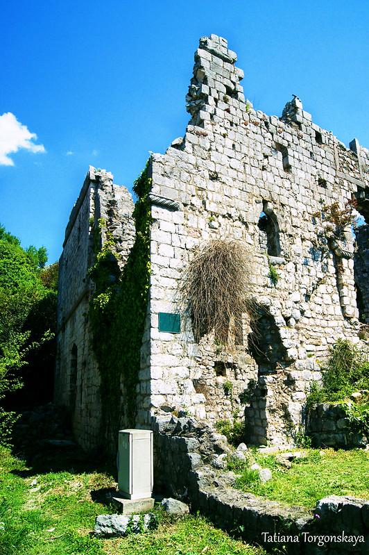Дворец князя в Старом Баре