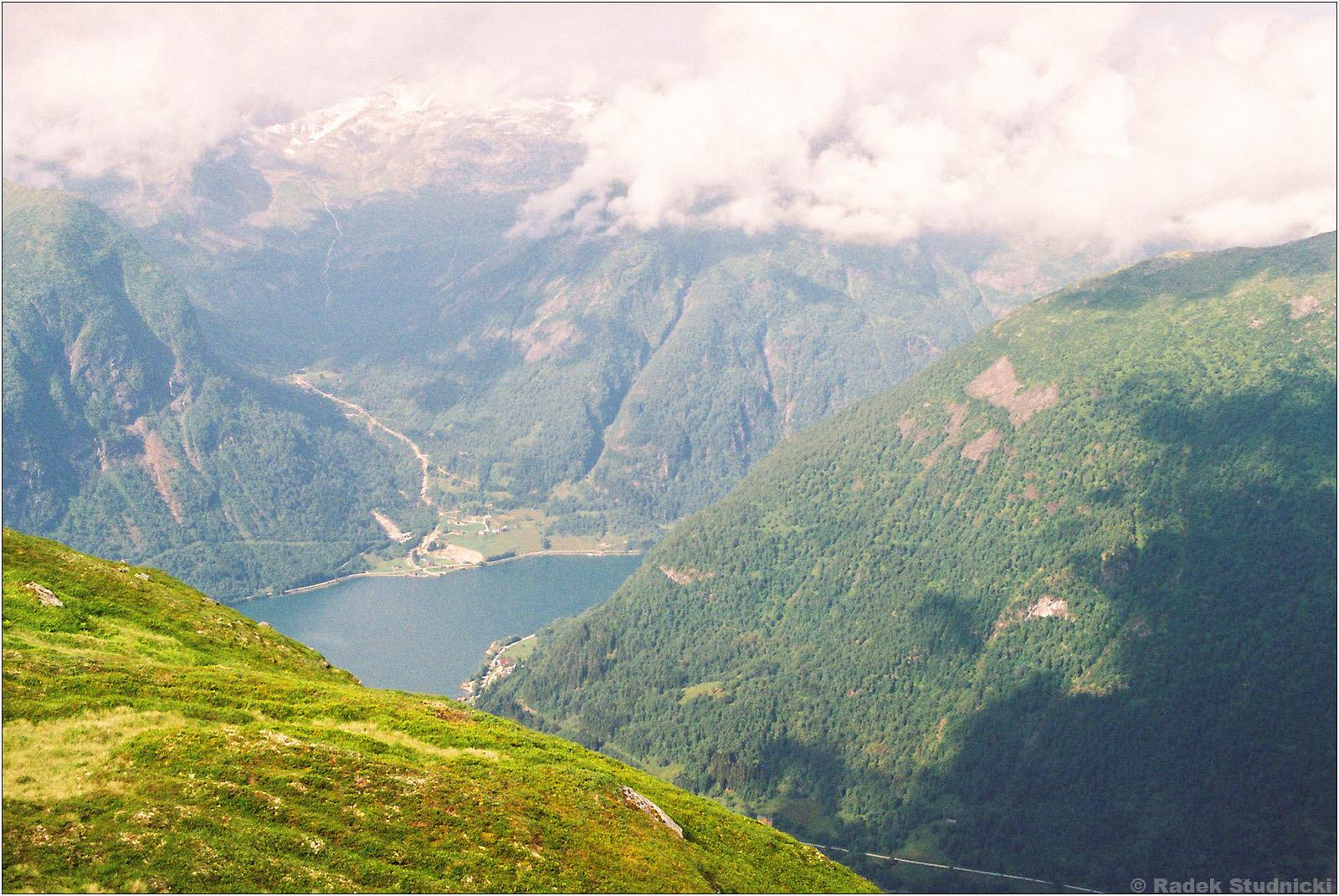 Widok na Sognefjord