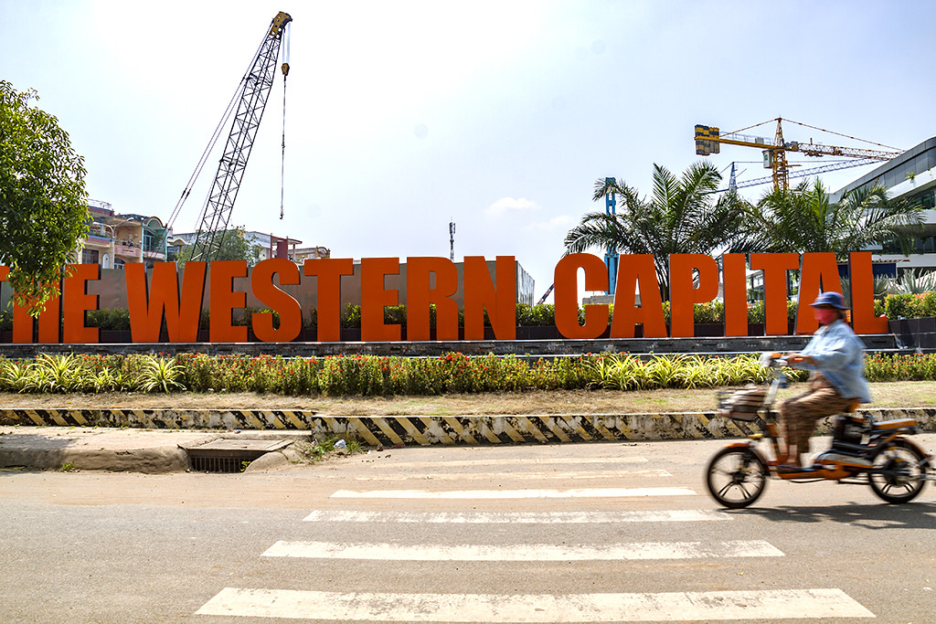 THE WESTERN CAPITAL--Saigon