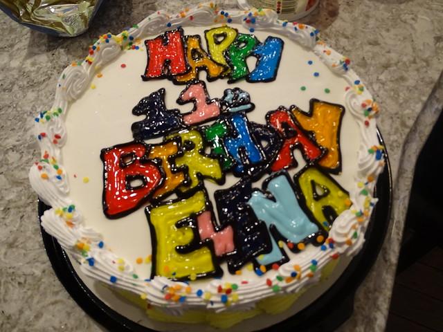 Elena's 11th Birthday