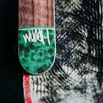 Wush Decks - Brown & Green Splitply Deck