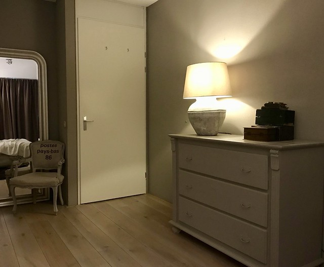 Ladenkast slaapkamer
