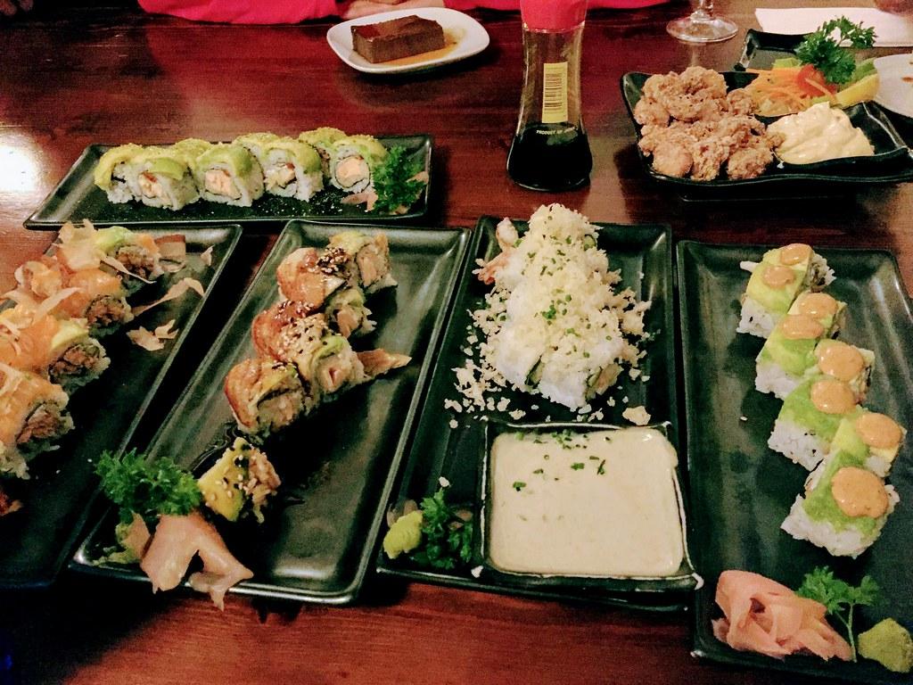 Sushi at Kibuka
