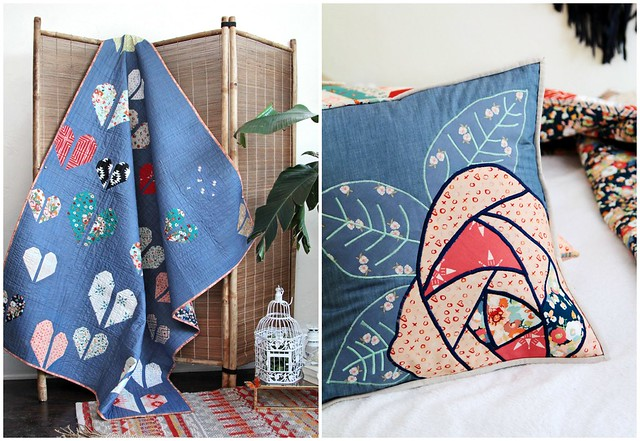 Love Story Quilt & Pillow