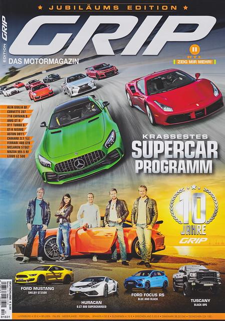 GRIP - Das Motormagazin 10/2017