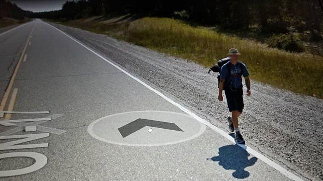 Have far did you go? #ridingthroughwalls #august2012 #xcanadabikeride #googlestreetview #ontario