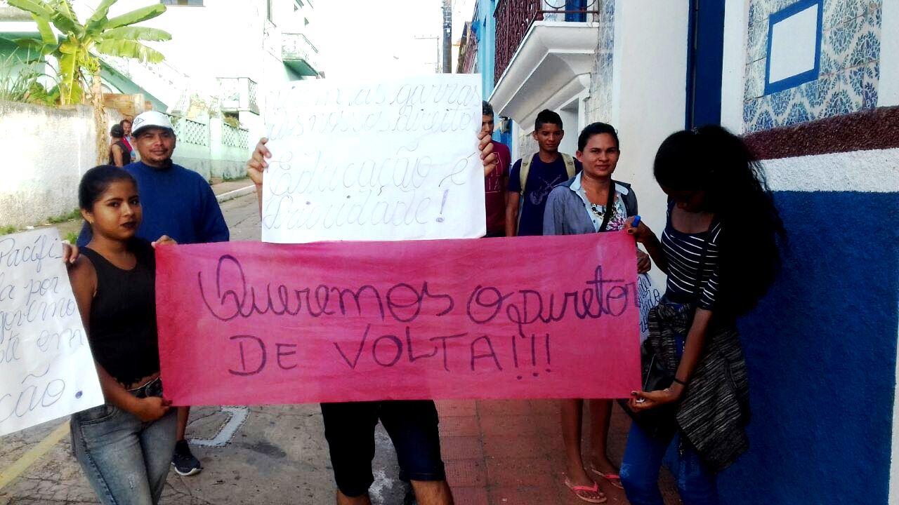 Protesto de Igarapé-Açu em Óbidos