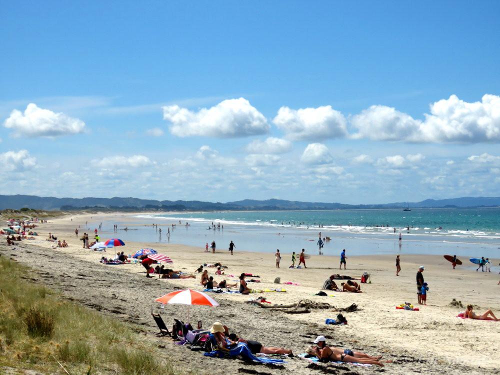 Waipu beach Northland