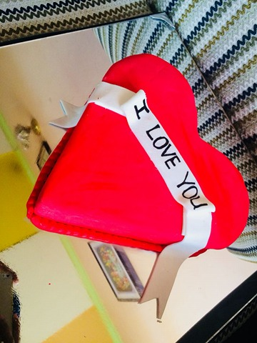 Heart Cake by Husniya Nawroos