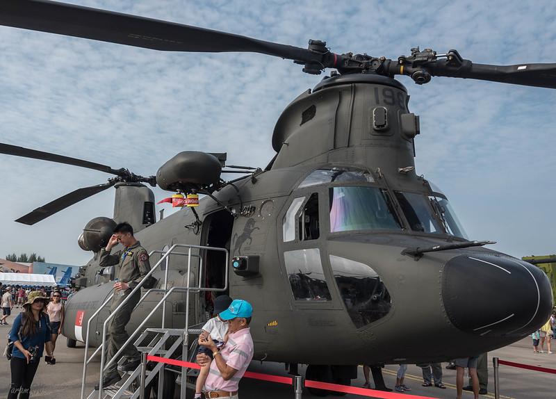 RSAF CH-47SD Chinook
