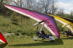 G-BZIW Solar Wings Pegasus [7681] Popham 020509