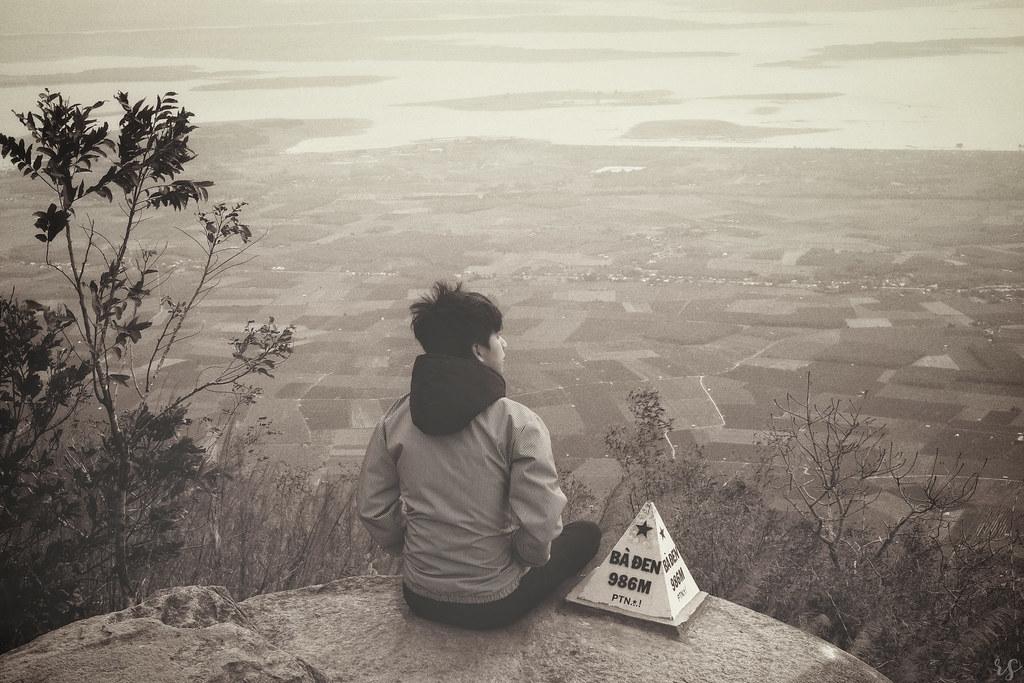 bản đồ đi núi bà đen