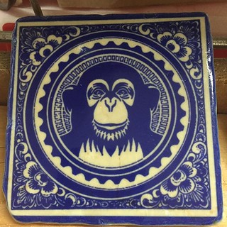 #monkeytime #marmor #marble #tiles #henribanks #delftblue