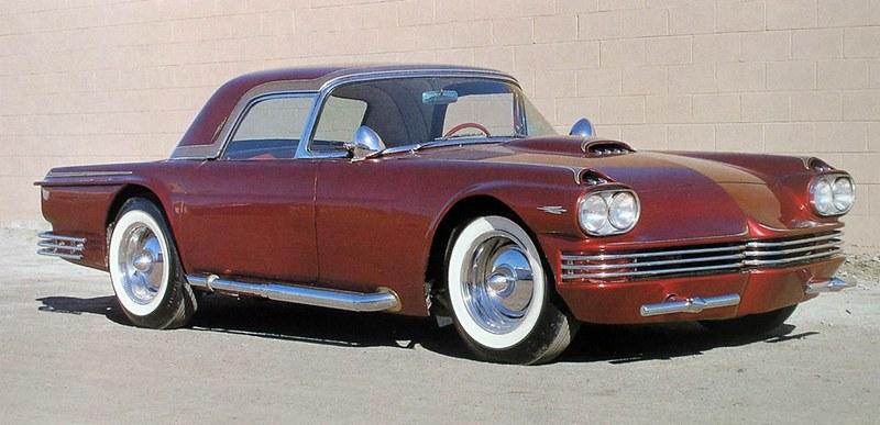 1955-56 Ford Thunderbird Kustom