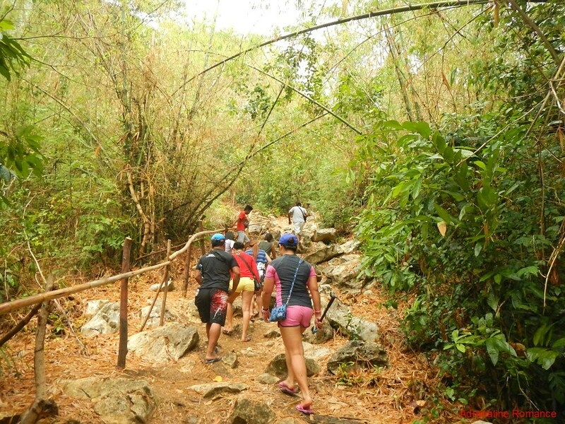 Hiking to Bakwitan Cave