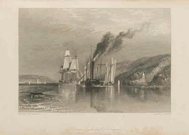 『ターナーの年次旅行』第2巻「セーヌ逍遥」』(1834年、いずれもSTコレクション)(1833年、STコレクション)