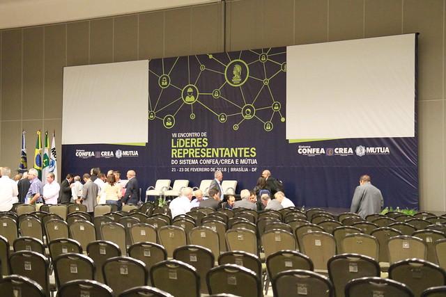 Ministro substituto participa do VII Encontro de Líderes Representantes do Sistema COFEA/CREA e MÚTUA em Brasília DF - 23-02-2018