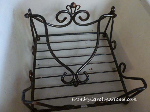 DIY Napkin Holder Project at From My Carolina Home