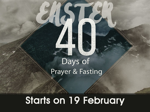 easter 40 days fast