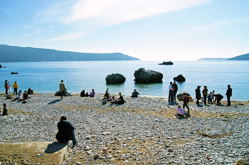 "Пляж ""Жало"" во время фестиваля в Шквере"