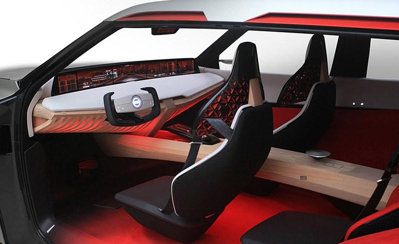 Nissan представила на моторшоу в Детройте концептуальный кроссовер Xmotion