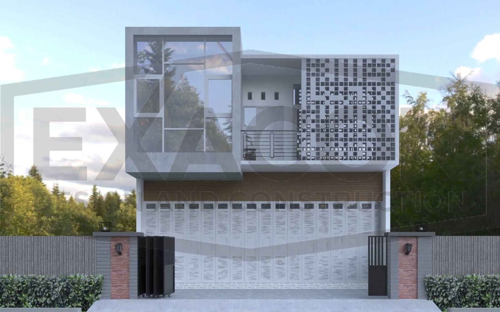 Proyek Desain Rumah Tinggal Minimalis Bapak Tri Jakarta Selatan