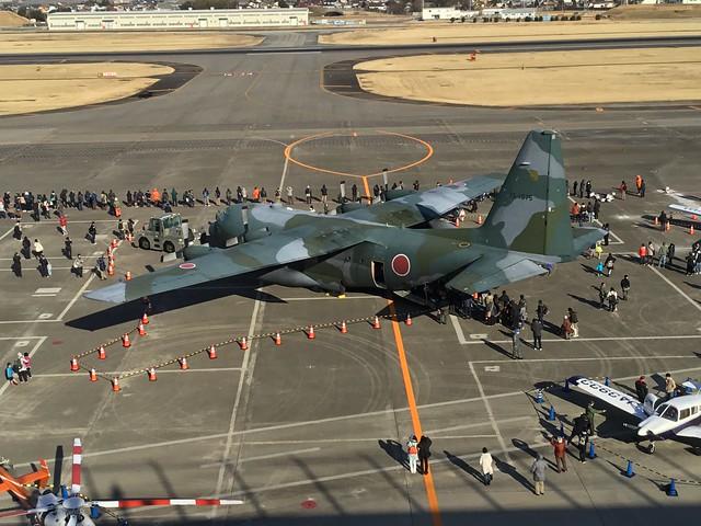 県営名古屋空港「空の日」「空の旬間」記念イベント 機体展示 航空自衛隊C-130H 75-1075 963D7630-4C20-4A98-8FA8-96097B144D7C