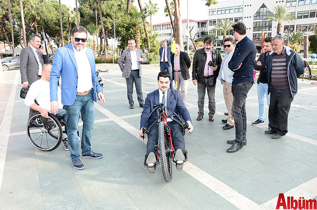 Alanya'da 'Hand Bike' engelleri kaldıracak-6