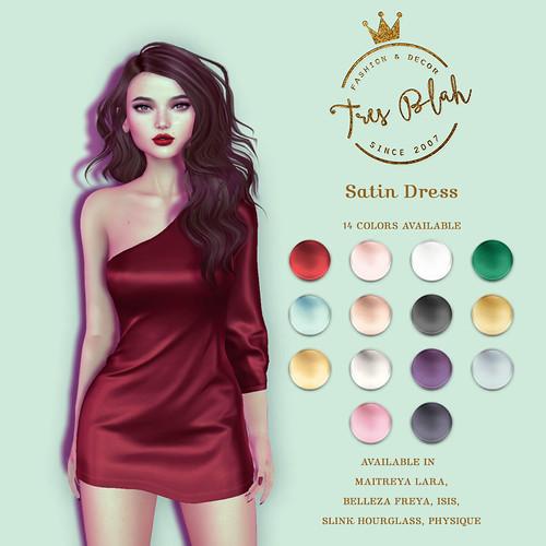 Tres Blah Vday Dress 2018