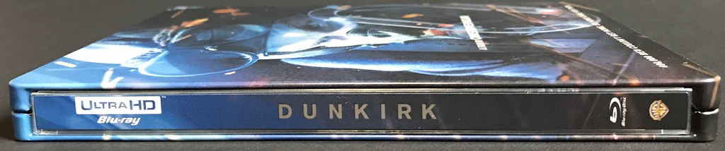 Dunkrik - MediaMarkt / Saturn Steelbook - Spine - Media Psychos