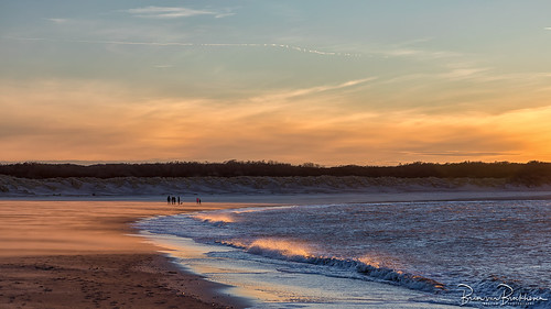 Drift Sand at Sunset