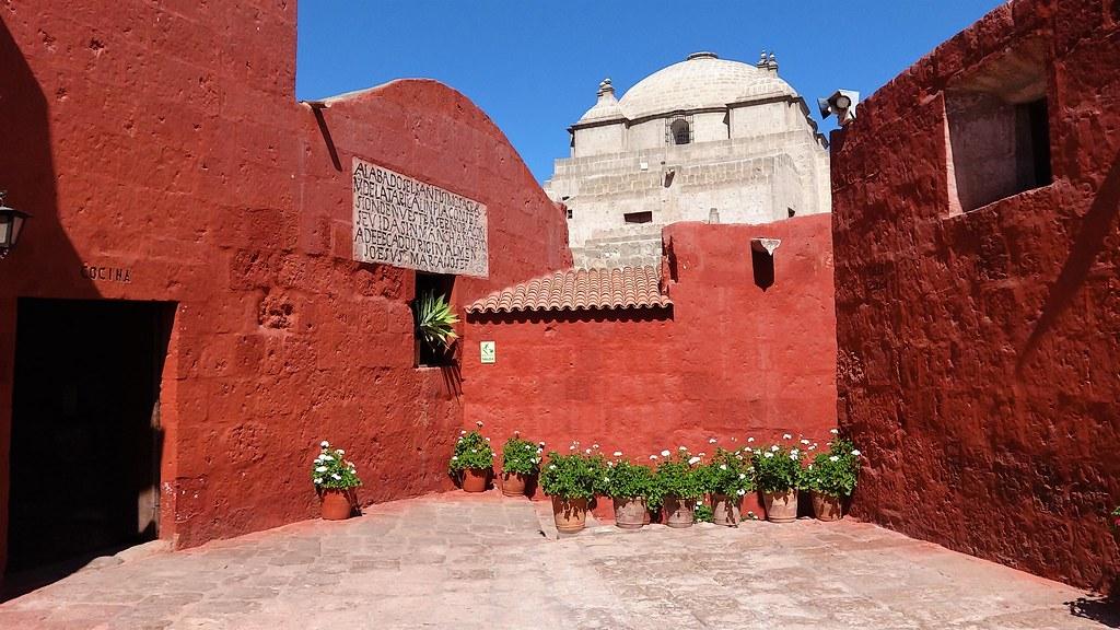 Santa Catalina Arequipa Peru