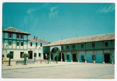 Plaza Mayor, Villanueva de la Jara(Cuenca)