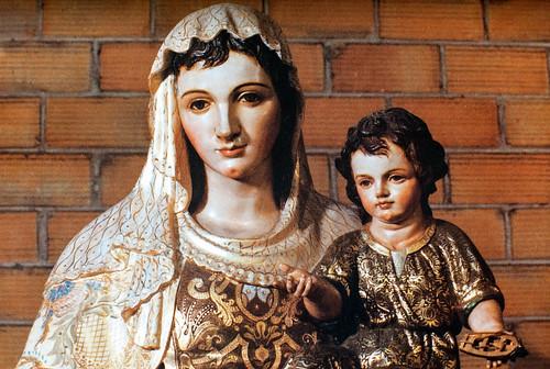 """Nueva imagen de """"Stella Maris"""" [1] - Obra de Juan Abascal. Sevilla, 1986. Bendecida el 12 de julio de 1986 en nuestra iglesia."""