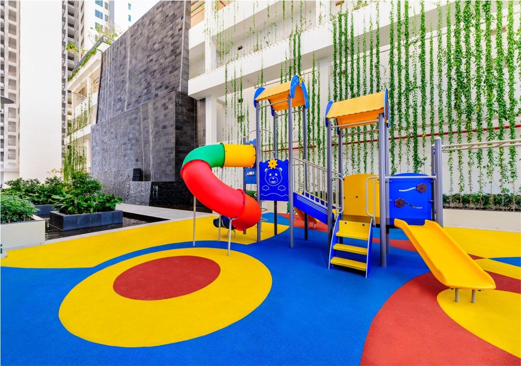 Khu vui chơi dành cho trẻ em tại căn hộ Riviera Point quận 7.