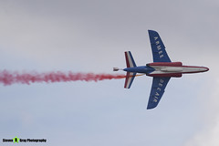 E134 0 F-TERM - E134 - Patrouille de France - French Air Force - Dassault-Dornier Alpha Jet E - RIAT 2010 Fairford - Steven Gray - IMG_9600