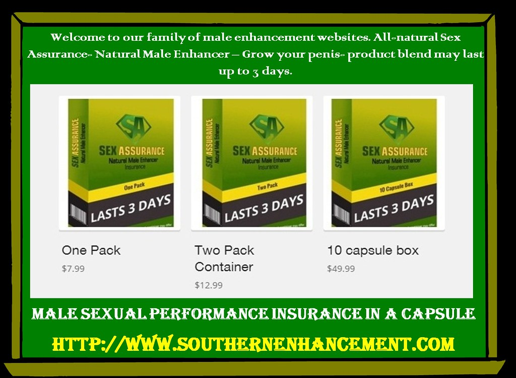Penis Enlargement Pills for Sexual Problems