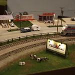 Amtrak around the corner