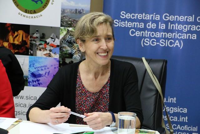 Recibimos a Jefa de Cooperación con Centroamérica, México y el Caribe de AECID y coordinadora de AECID ElSalvador para trabajar en la nueva fase del Fondo España-SICA
