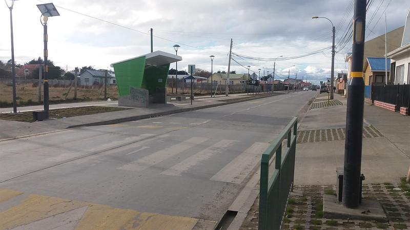 Paraderos de Locomoción Colectiva - Barrio Playa Norte – Punta Arenas