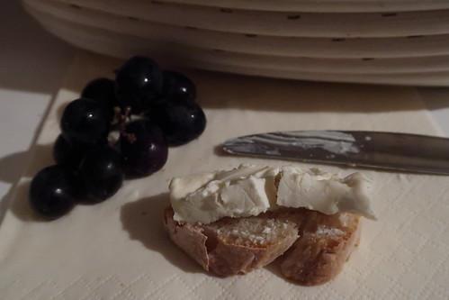 Le Vignoble auf französischem Baguette