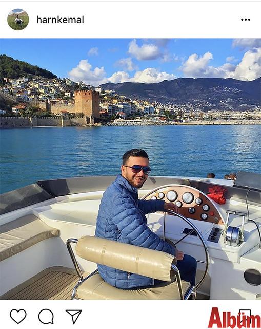 Eurodan Group sahibi genç işadamı Harun Kemal Boz, Kızılkule açıklarından bu fotoğrafı paylaştı.