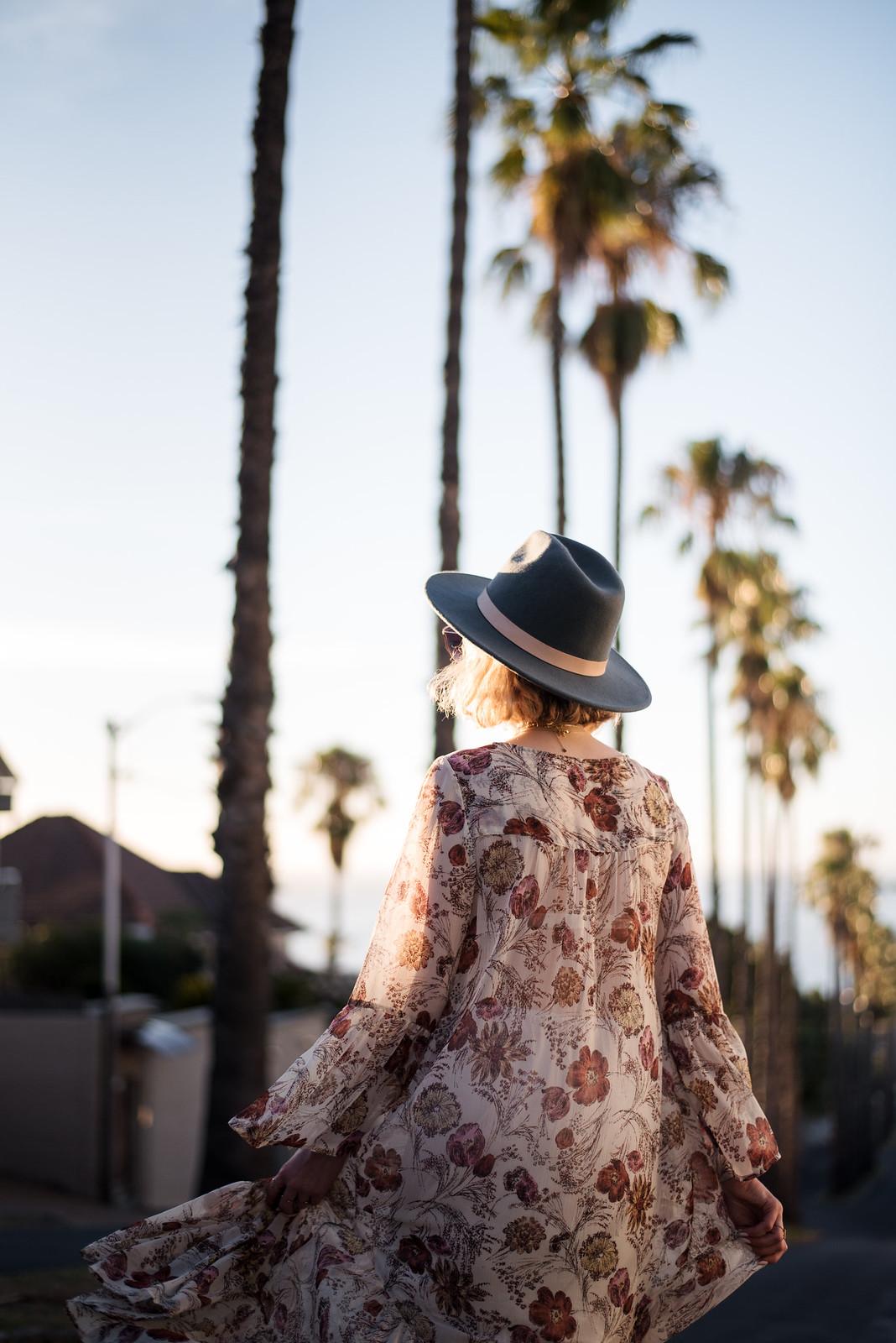 Floral Maxi Dress from Target on juliettelaura.blogspot.com