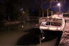 FR10 1009 Quai Edmond Combes. Le bassin du canal du Midi. Castelnaudary, Aude, Languedoc