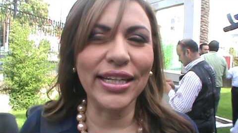 2.- Veronica Terrones Romero, de  conductora de noticieros pasó a ser censuradora de medios como directora de Comunicación Social...