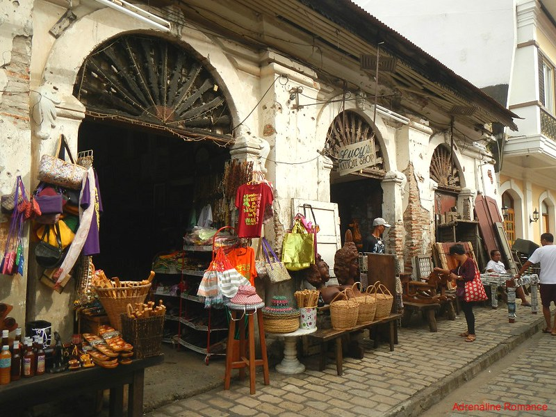 Old Stores at Calle Crisologo