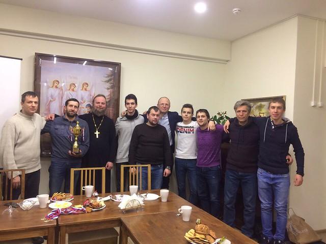 2018.02.02 Вечер на подворье с футбольной командой нашего храма!