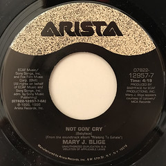 MARY J. BLIGE:NOT GON' CRY(LABEL SIDE-A)